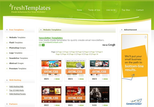 Jual Templete Website