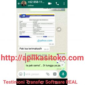 Testimoni Real Pembelian Software Toko