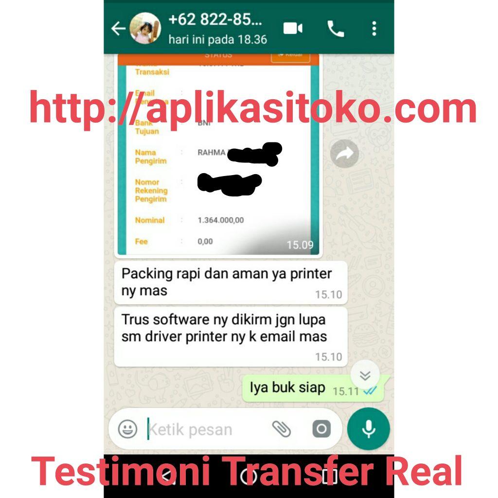 Testimoni Real Software Toko Bangunan Dan Printer Thermal