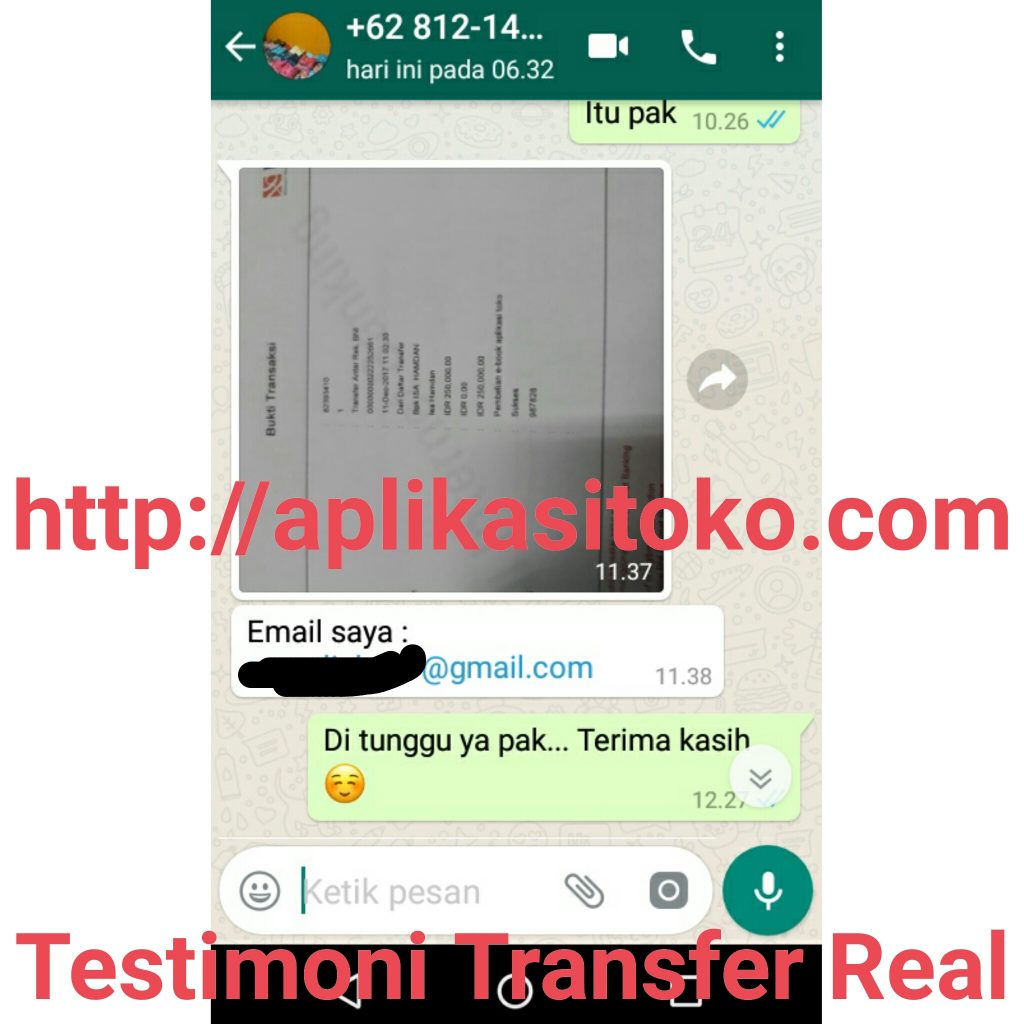 Testimoni Real Software Toko