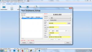 Form Pembayaran Hutang Software Akuntansi
