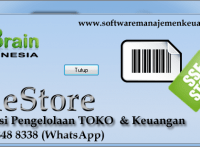"software toko ""the store"""