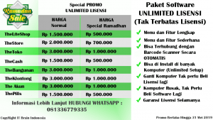 PROMO RAMADHAN Software