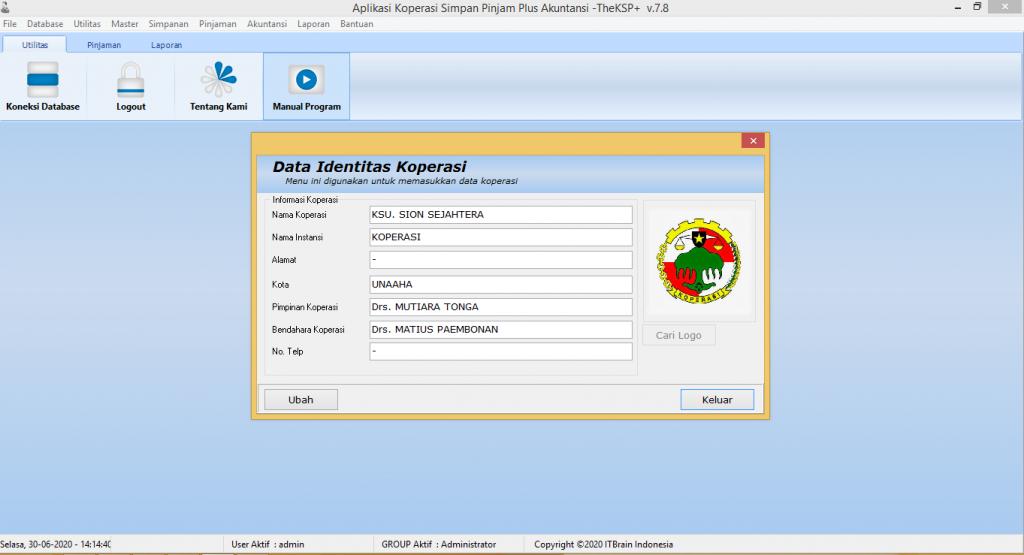 Software Koperasi Simpan Pinjam