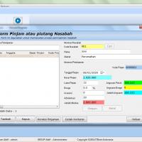 Form Peminjaman Anggota Software Koperasi Pinjaman