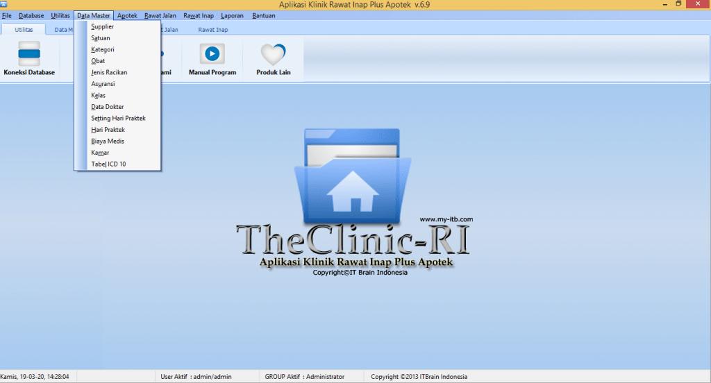 Master Aplikasi Klinik Rawat Inap