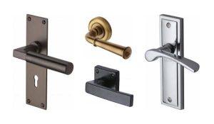 Berbagi ukuran dan model handel pintu