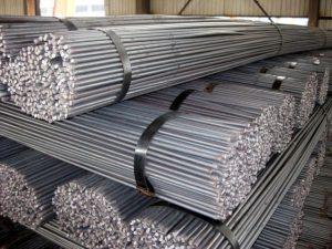 Besi beton berbagai ukuran
