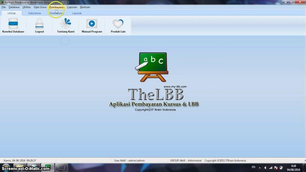 Software Pembayaran LBB