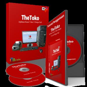 setup install Software Kasir TheToko