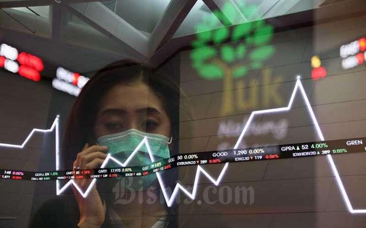 penyebab saham naik turun