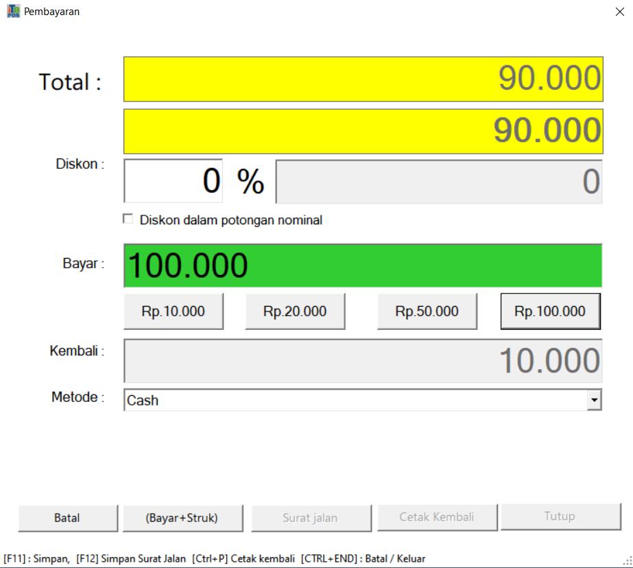Penjualan | ITB POS Kasir Bengkel