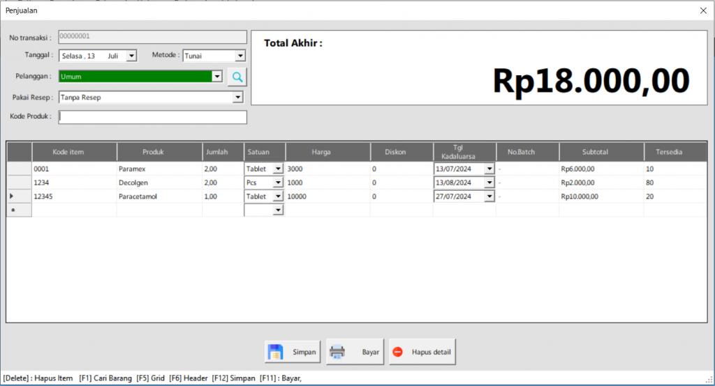 ITBrain POS Apotek | Kasir Penjualan