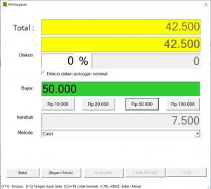 Software Toko | Pembayaran | ITB POS