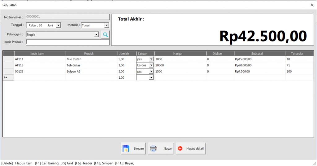 Software Toko | Penjualan Kasir } ITB POS