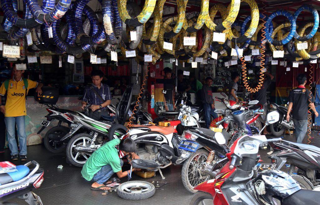 Bengkel sepeda Motor 01