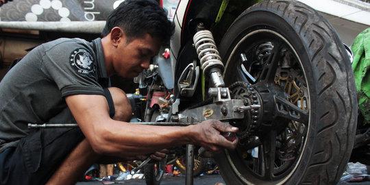 bujuk rayu montir bengkel onderdil palsu motor 4